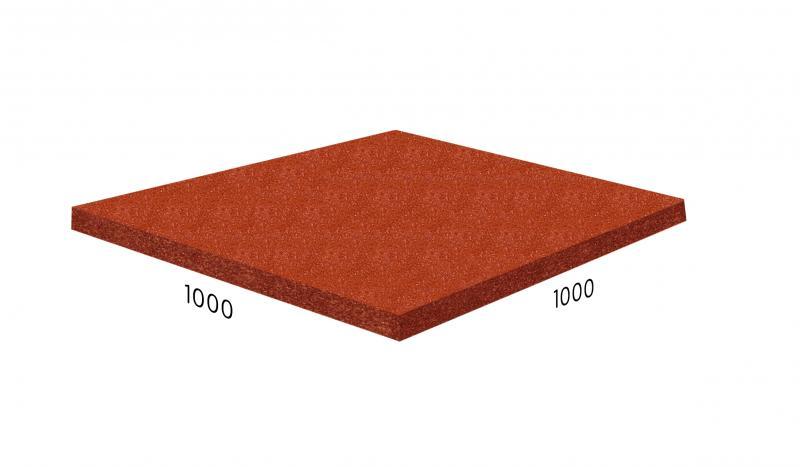 Резиновая плитка плотность 1050 кг/м³