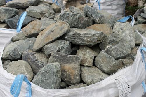 Гранит скальник (серо-зеленый) фр. 100-500 мм.
