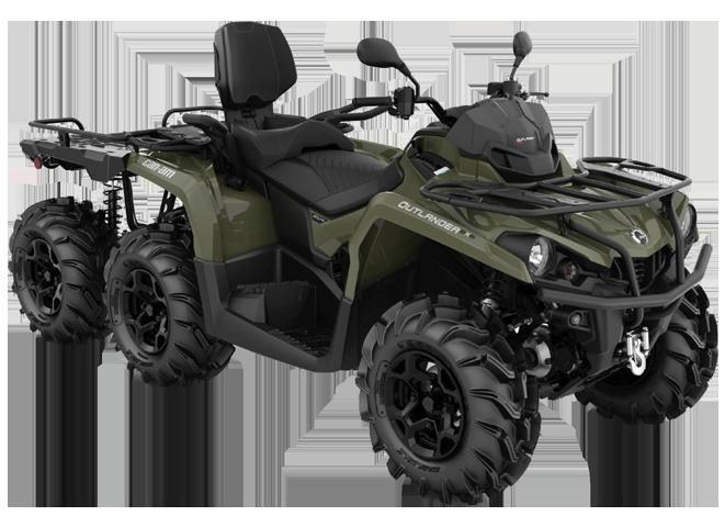 Квадроциклы OUTLANDER MAX 6×6 XU+ 450 2021