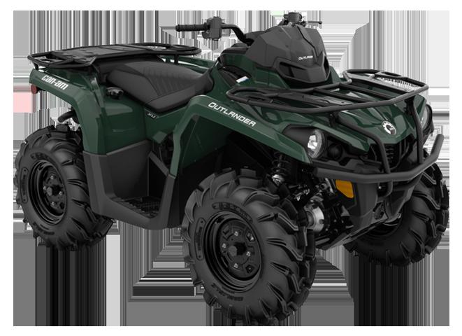 Квадроциклы OUTLANDER XU 570 2021