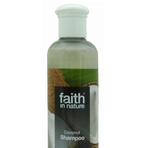 Натуральный шампунь Faith in nature укрепляющий с маслом Кокоса 250мл
