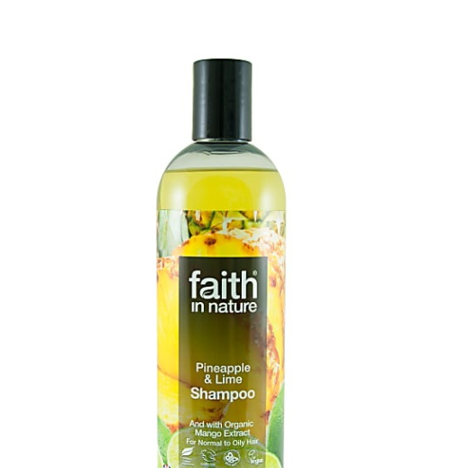Натуральный шампунь Faith in nature укрепляющий с экстрактом Ананаса 400мл