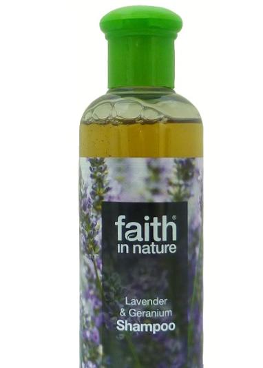 Натуральный шампунь Faith in nature с маслом Лаванды 250мл