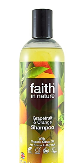 Натуральный шампунь Faith in nature с маслом Грейпфрута 400мл