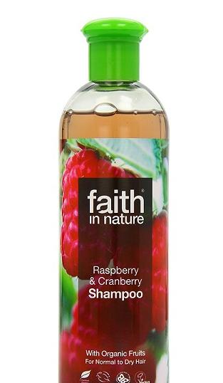Натуральный шампунь Faith in nature с экстрактом Малины 400мл