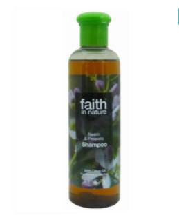 Натуральный шампунь Faith in nature от перхоти с экстрактами Нима и Прополиса 250мл