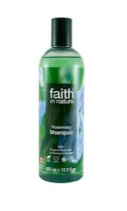 Натуральный шампунь Faith in nature от перхоти с экстрактом Розмарина 400мл