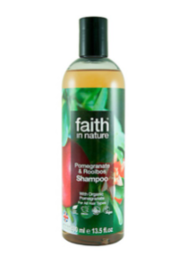 Натуральный шампунь Faith in nature питающий с экстрактом Граната 400мл