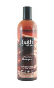 Натуральный шампунь Faith in nature для темных и черных волос с маслом Какао 400мл