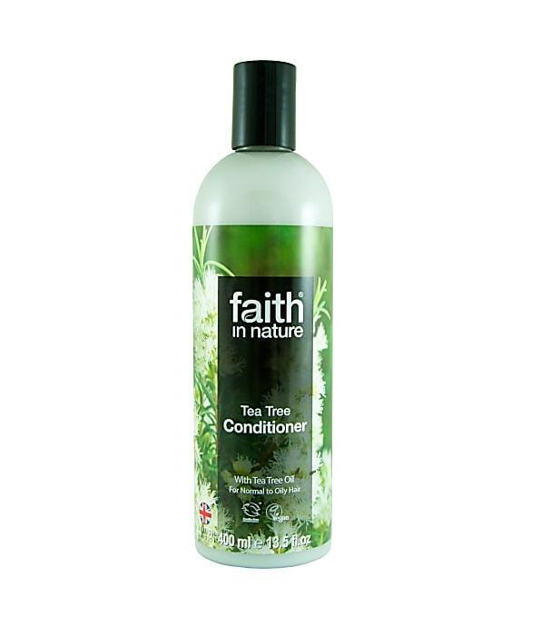 Кондиционер для волос Faith in nature интенсивный с эфирными маслами Чайного дерева, Апельсина, Лимона и Лайма 400 мл