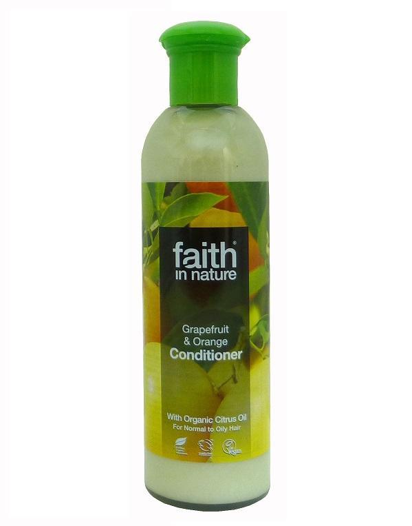 Кондиционер для волос Faith in nature с эфирными маслами Грейпфрута и Апельсина 250 мл