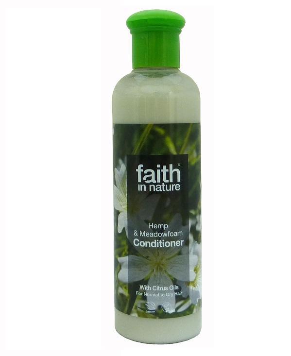 Кондиционер для волос Faith in nature с Конопляным маслом, 250мл