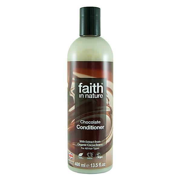 Кондиционер для волос для темных и черных волос Faith in nature с маслом Какао 250 мл
