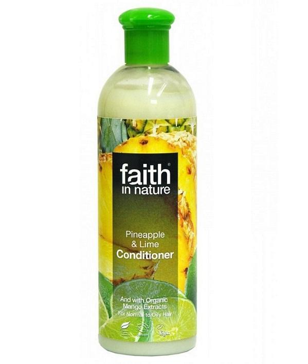 Кондиционер для волос Faith in nature с экстрактами Ананаса, Манго и Лайма 250 мл