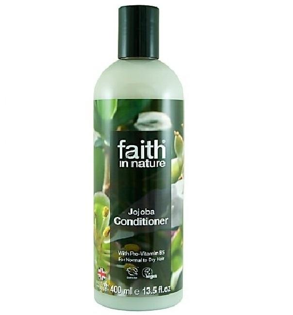 Кондиционер для волос Faith in nature с маслами Жожоба и провитамин В5, 400 мл