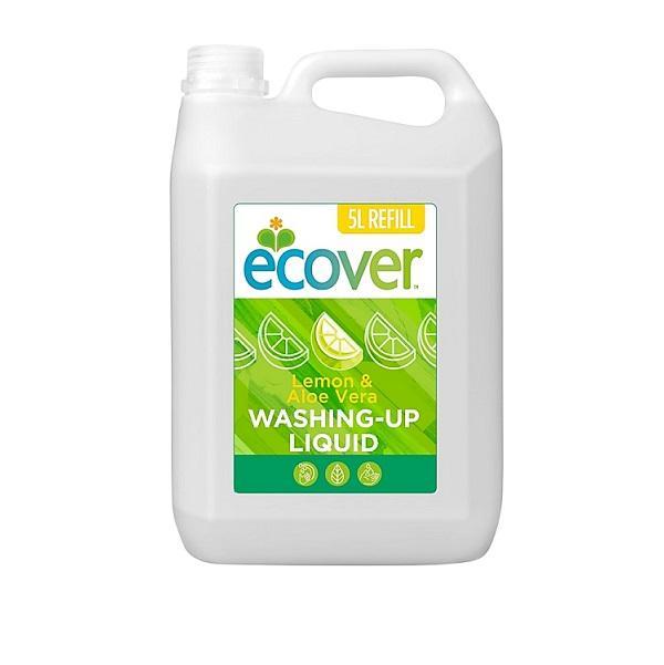Средство для мытья посуды Ecover с Лимоном и Алое Вера, 5л