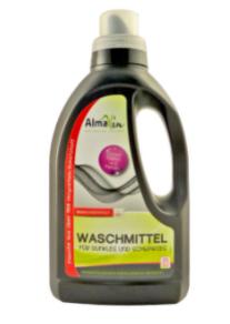Жидкое средство AlmaWin экоконцентрат 750 мл для стирки черных и темных тканей
