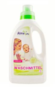 Жидкое средство AlmaWin экоконцентрат 750 мл для стирки с запахом Лаванды