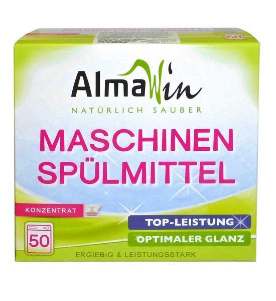 Средства для посудомоечной машины Экологичный порошок AlmaWin, экоконцентрат 1,25 кг