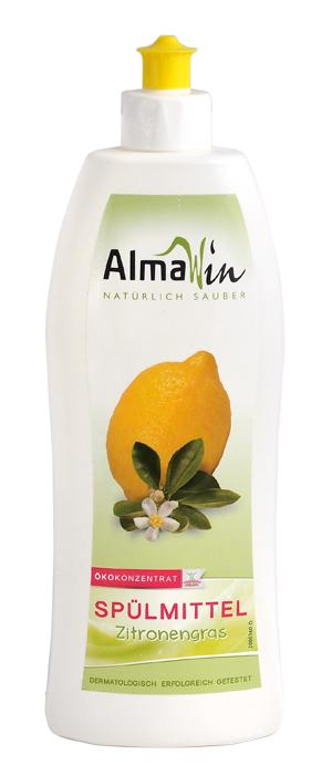 Средство для мытья посуды Лимон, AlmaWin экоконцентрат 500мл