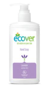 Антибактерильное жидкое мыло Ecover с Лавандой и Алое-Вера 250 мл