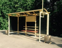 Автобусный павильон ПГП5 (4х2)