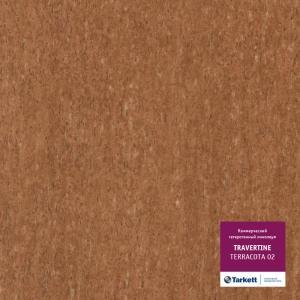 Линолеум Tarkett Travertine Terracotta 02