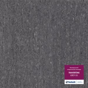Линолеум Tarkett Travertine Grey 03