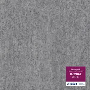 Линолеум Tarkett Travertine Grey 02