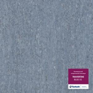 Линолеум Tarkett Travertine Blue 01