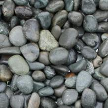 Галька речная окат (темно-серая) фр. 50-100мм; 70-120мм; 100-150мм.
