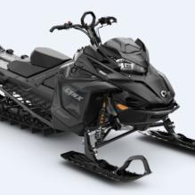 Снегоход LYNX Boondocker DS 3900 850 E-TEC DSHOT BLACK EDITION 2022