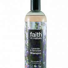 Натуральный шампунь Faith in nature с маслом Лаванды 400мл