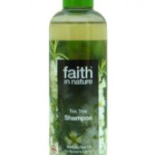Натуральный шампунь Faith in nature от перхоти с маслом Чайного дерева 250мл