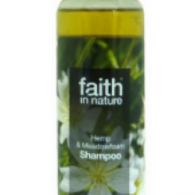 Натуральный шампунь Faith in nature увлажняющий с маслом семян Конопли 250мл