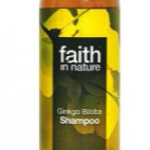 Натуральный шампунь Faith in nature для светлых волос с экстрактом Гинкго Билоба 250мл