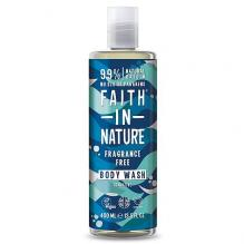 Гель для душа Faith in nature Sensitive (без запаха), 400мл
