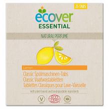 Средства для посудомоечной машины Экологичные таблетки Ecover Essential, 25 шт