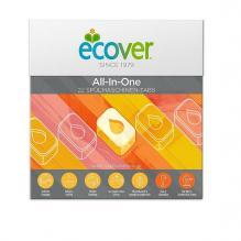 Средства для посудомоечной машины Экологичные таблетки Ecover All in One, 22 шт