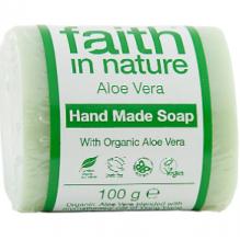 Увлажняющее мыло ручной работы Faith in nature 100г с экстрактом Алоэ Вера