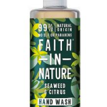 Антибактерильное жидкое мыло Faith in nature 300 мл с экстрактом Морских водорослей
