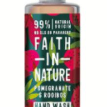 Антибактерильное жидкое мыло Faith in nature 300 мл с экстрактами Граната и Ройбуша