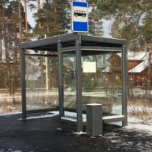Автобусный павильон Городской стандарт