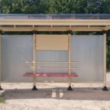 Автобусный павильон ПГЛ4 4х2