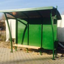 Автобусный павильон ПГ2 (3х1,5)