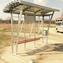 Автобусный павильон ПГЦО2 3х1,5
