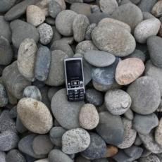 Галька речная плоская (ассорти) фр. 50-100мм; 70-120мм.