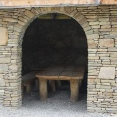 Песчаник для строительства и кладки (малые и средние блочки)