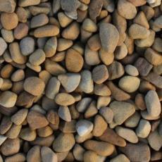 Щебень галтованый желтый (песчаник) фр. 20-40 мм.