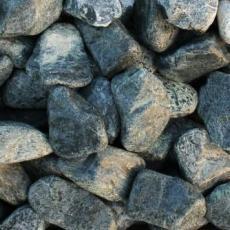 Щебень галтованый зеленый (змеевик) фр.50-100 мм.